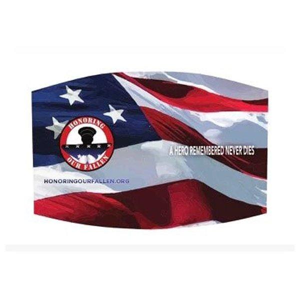 Flag Face Mask– One Size Adjustable Straps