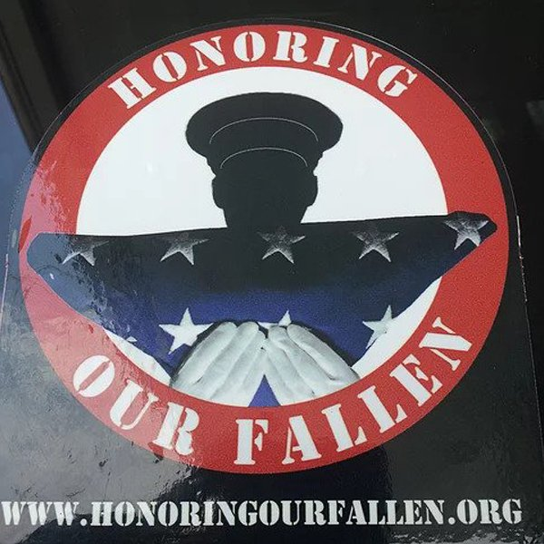 Honoring Our Fallen Decal